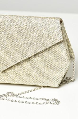 Goldfarbig Portfolio Handtasche 0427-06