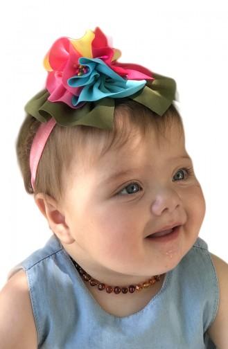 Bandana Pour Bébé et Enfant  NBA261 Fushia 261