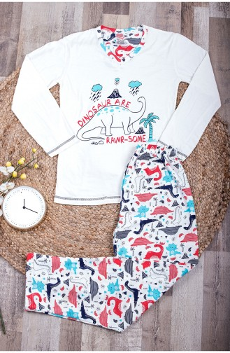 White Pyjama 0021-01