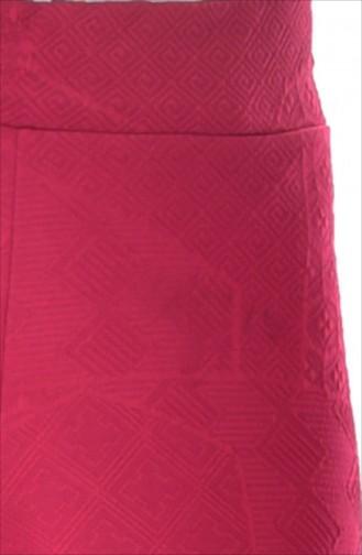Bol Paça Pantolon 4030-04 Kırmızı 4030-04