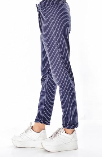 Navy Blue Pants 1329-03