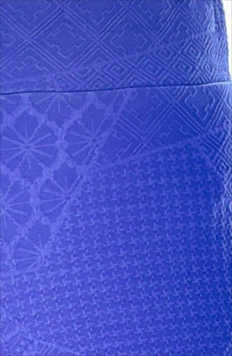 Pantalon Large 4030-01 Bleu Roi 4030-01