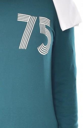 Robe Sport Imprimée 7986-04 Khaki 7986-04
