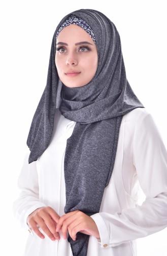 Dark gray Sjaal 131A