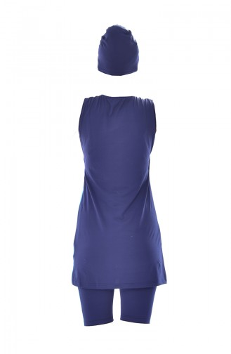 Navy Blue Swimsuit Hijab 271-02