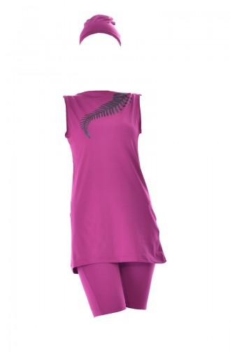 Damson Swimsuit Hijab 309-03