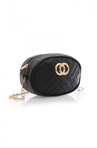 Black Shoulder Bag 109-201-DU02W-01
