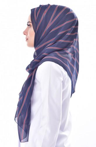 Navy Blue Sjaal 50450-01