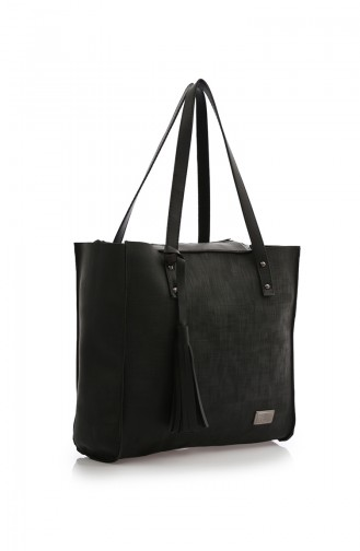 Black Shoulder Bag 214-001-AK03W-01