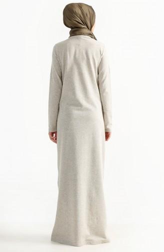 Robe a Paillettes 2979-07 Ecru 2979-07