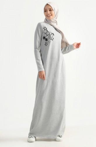 Gray İslamitische Jurk 2979-04