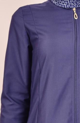 Abaya 2026-03 Bleu Marine 2026-03