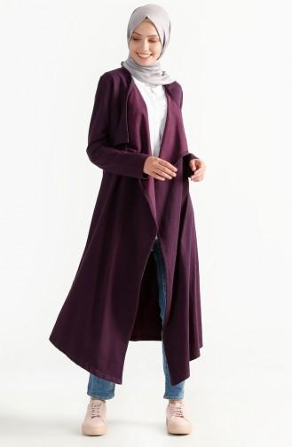 Two Yarn Flywheel Cardigan 2976-07 Purple 2976-07