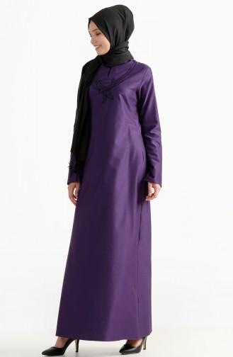 Robe Bordée 2975-11 Pourpre 2975-11