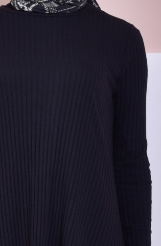 Tunik Pantolon İkili Takım 4516-02 Siyah 4516-02