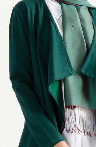 Two Yarn Flywheel Cardigan 2976-04 Emerald Green 2976-04