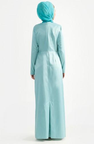 Lace Evening Dress 7199-01 Mint Green 7199-01