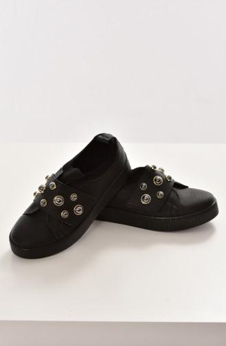 Black Sport Shoes 2020K-01