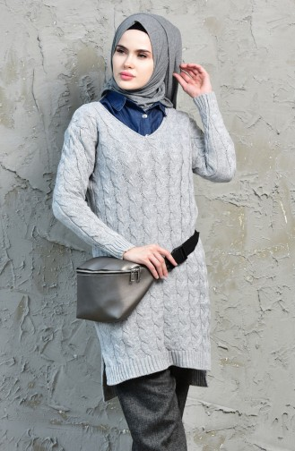 Knitwear Sweater 3016-01 Gray 3016-01