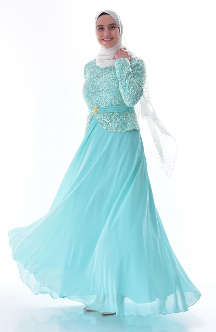 Mint Green Plus Size Prom Dresses   Saddha