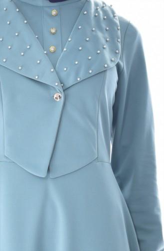 Pearls Dress 1867-06 Almond Green 1867-06