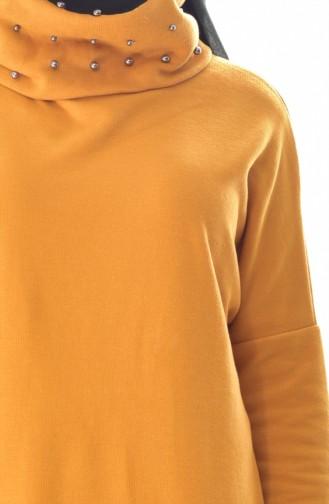 تونيك أصفر خردل 41202-03