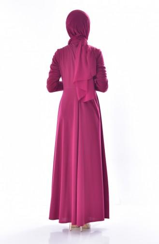 İncili Elbise 1867-05 Mürdüm