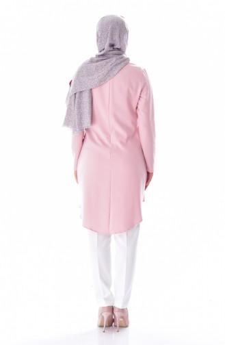 Tunik Pantolon İkili Takım 6133-01 Pudra 6133-01