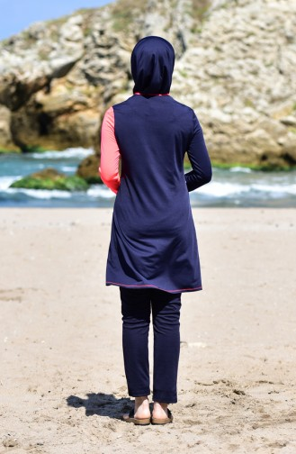 Garnish Swimsuit 1839-01 Navy Blue 1839-01