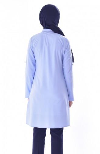 Tunique Perlées 6009-02 Bleu 6009-02