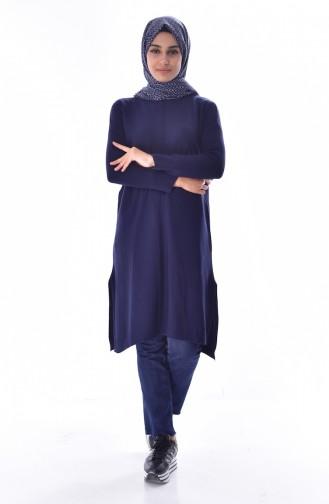 ملابس مُحاكة أزرق كحلي 3834-12