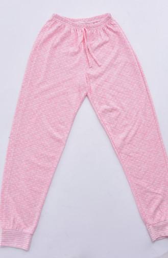 Pajamas Suit 4154-01 Powder Pink 4154-01