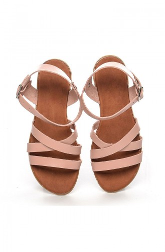 Pink Summer Sandals 2043-2