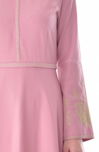 Robe Bordée 0808-02 Poudre 0808-02