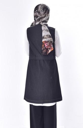 Jeans Vest 8422-02 Black 8422-02