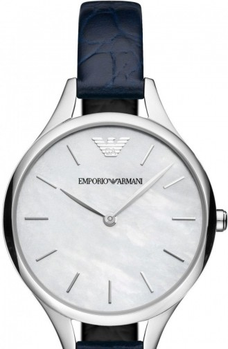 Navy Blue Horloge 11090