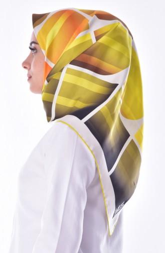 Levidor Silk Shawl 2072-07 Cream Yellow 07