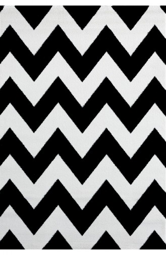 Selectum Black Modern Halı FA66 120x170