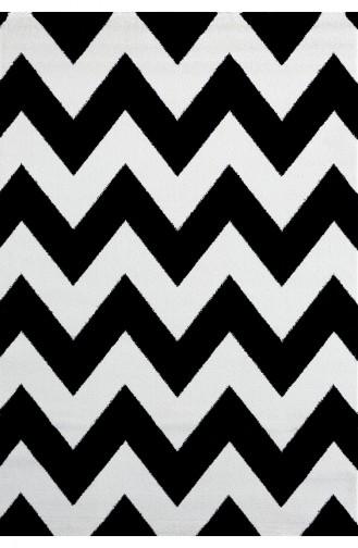 Schwarz Teppich 66B
