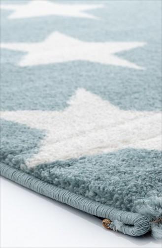 Blau Teppich 68B