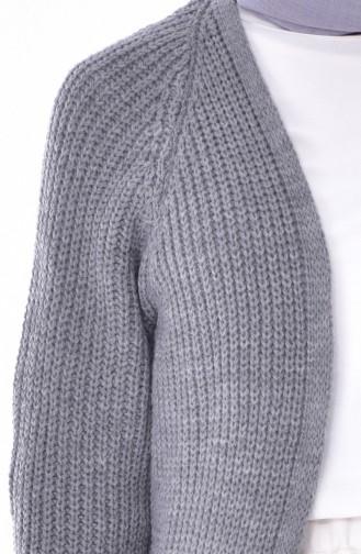 Gray Cardigan 4641-08