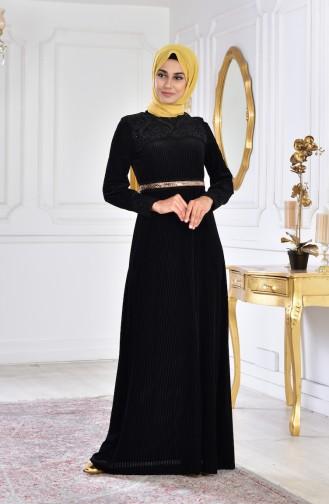 Black İslamitische Avondjurk 28210-03