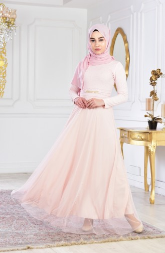 Habillé Hijab Poudre 2539-03