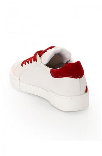 أحذية رياضية أبيض 11010
