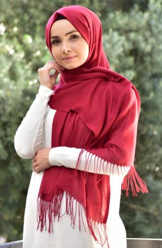 Sefamerve Pashmina Shawl 90508-80A Bordesux 80A