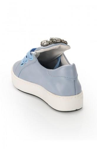 Blue Sport Shoes 6066