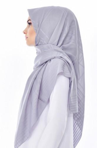 Armine Chiffon Shawl 5188-06 Silver 5188-06