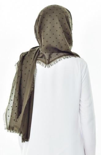 Khaki Shawl 19042-14