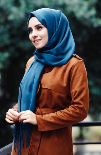 Sefamerve Pashmina Shawl 90508-69 Dark Oilذ 69