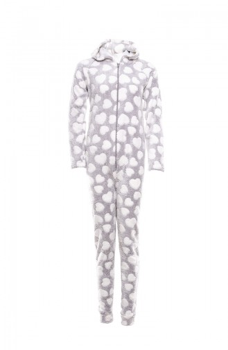 Gray Pyjama 7001-01
